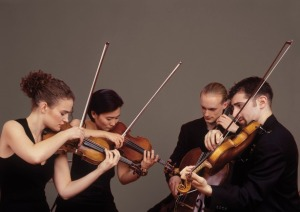 The Chiara Quartet. Photo by Christian Steiner
